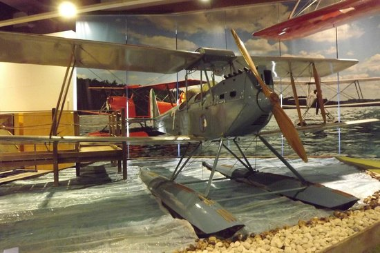 Museo dell'Aeronautica Gianni Caproni : interno
