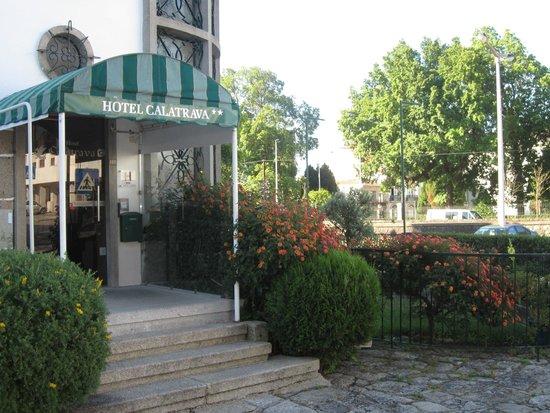 Hotel Calatrava: Foto da entrada do Hotel