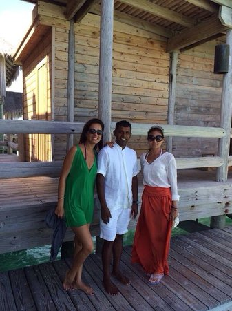 Gili Lankanfushi Maldives: Sanat/friday our butler just made our trip in different level.