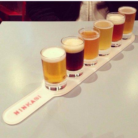 Ninkasi Croix-Rousse : Plateau dégustation de bières
