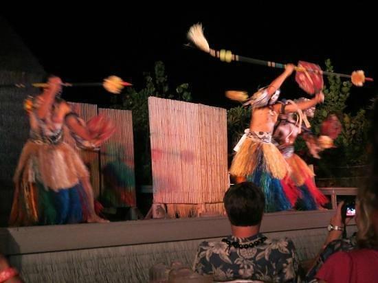 Island Breeze Luau: One of many dances