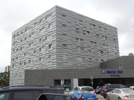 Melia Ria Hotel & Spa: Edificio