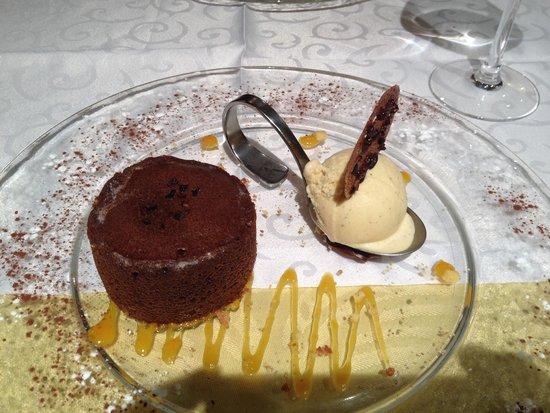 restaurant le lion d'or Lagnieu: Dessert