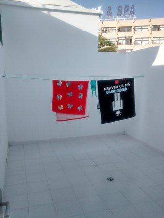 Apartamentos THe Las Gaviotas : Patio