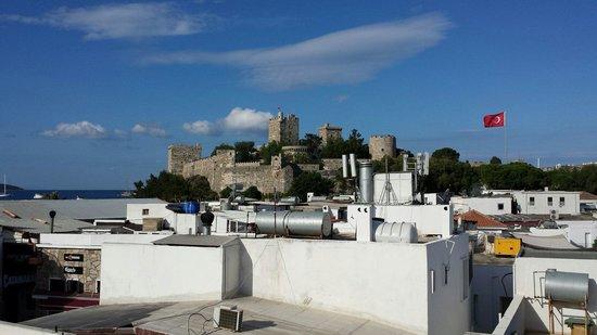 Hotel Can Bodrum: Вид с крыши