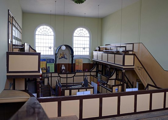 Dorchester's Shire Hall: Interior of the Georgian courtroom