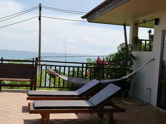 Baan KanTiang See Villa Resort (2 bedroom villas): large terrace area