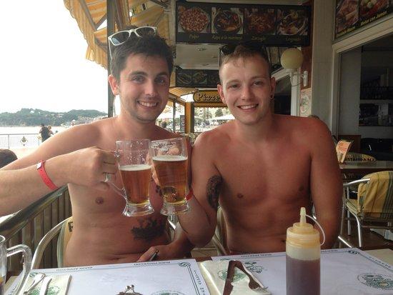 restaurante Maxim : Happy Boys local beers