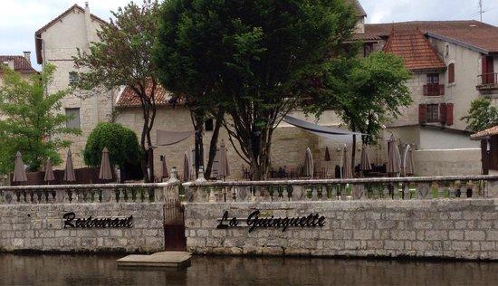 Brantôme, Francia: Restaurant La Guinguette