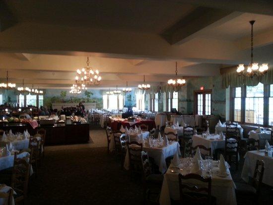 Hotel Tadoussac : La salle à manger