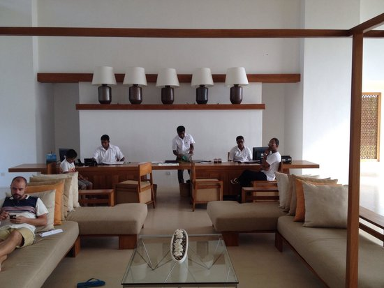 Anantaya Resort & Spa Chilaw : Reception area
