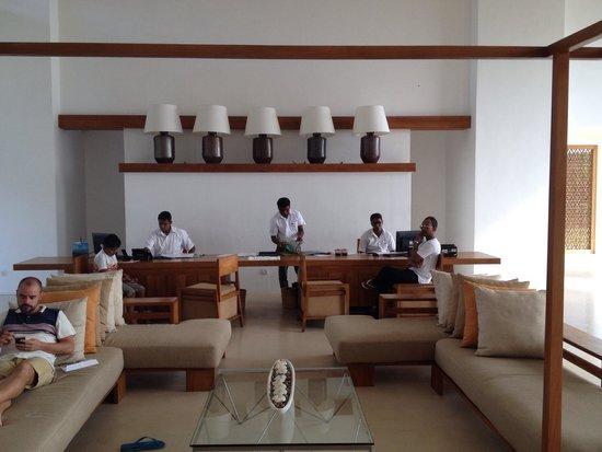 Anantaya Resort & Spa Chilaw: Reception area