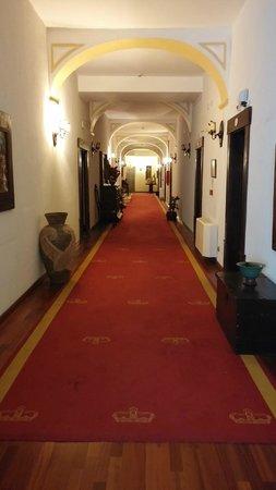 Hotel Sao Joao de Deus : pasillos