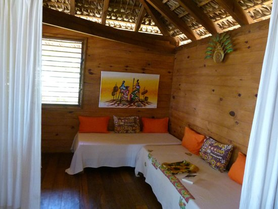 Anjiamarango Beach Resort: The sitting room