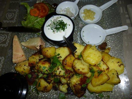 L'Auberge du Veilleur: Assiette fromagères chaud/froid
