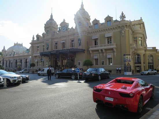 Casino Square : Front Exterior with Fancy Cars