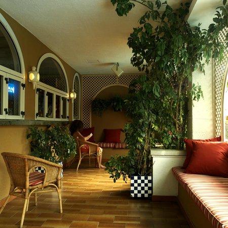Mundial Club Hotel : Terraza