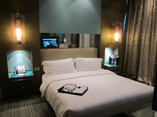 Park Rotana Abu Dhabi: very comfy bed