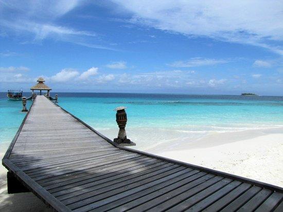 Reethi Beach Resort: Mooi uitzicht