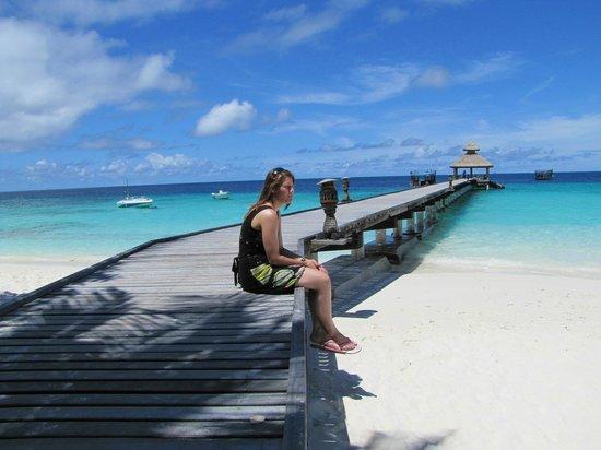 Reethi Beach Resort: Uitzicht