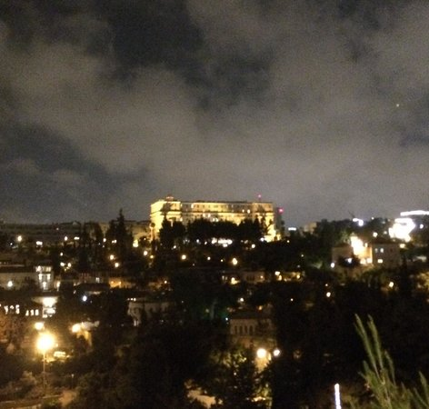 The King David: Night view from old city
