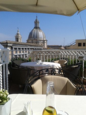 Hotel Raphael - Relais Chateaux: rooftop view