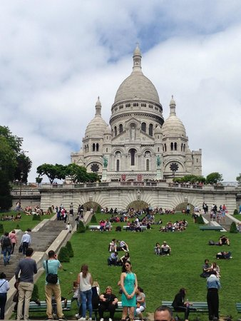Basilique du Sacré-Cœur de Montmartre : Außen