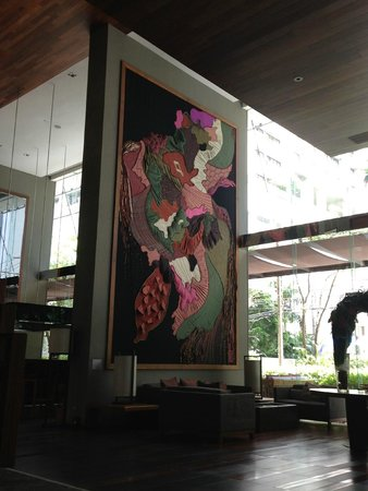 Hansar Bangkok Hotel : Lobby