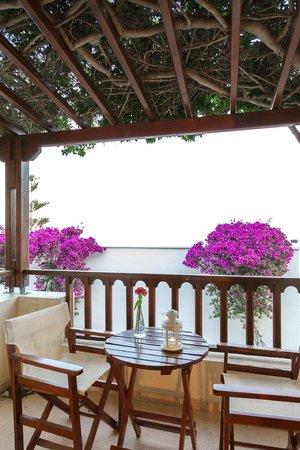 Hotel Mathios Village: balkony