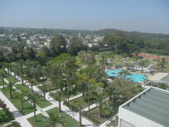 Sofitel Rabat Jardin des Roses : View from the room