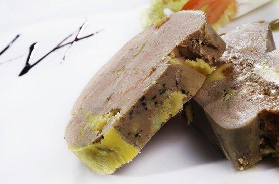 Le Vieil Alby: Foie gras de canard mi-cuit maison au Gaillac doux et vieil Armagnac