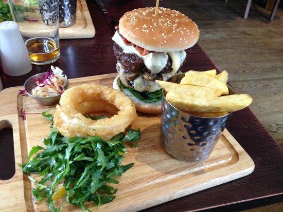The ALB: The Ultimate AL-Burger (£13.50)
