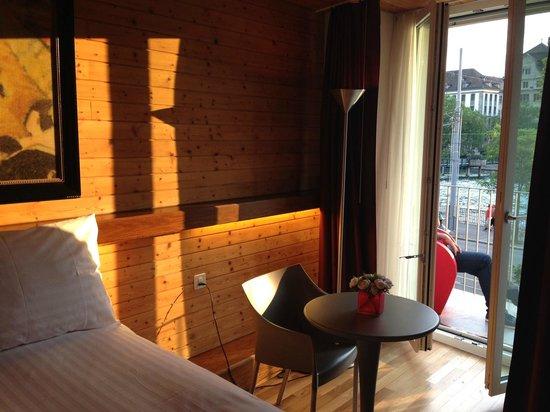 Hotel Limmatblick: room