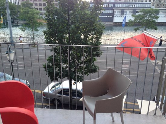 Hotel Limmatblick: balcony