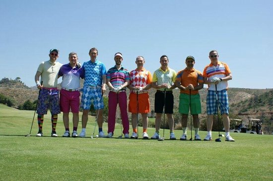 Marbella Golf & Country Club: The Rascals on the 1st tee