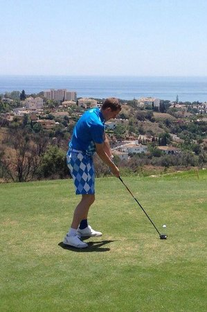 Marbella Golf Country Club: Nice view from the tee
