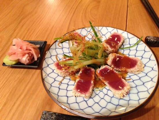 Kanpai Sushi: Seared Tuna, probably my 3rd fav thing there