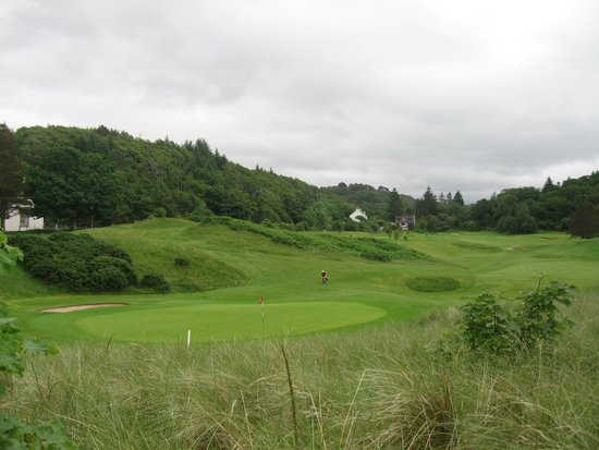 Gairloch Golf Club: VIEW OF THE COURSE