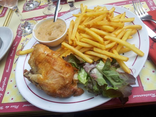 poulet roti paris