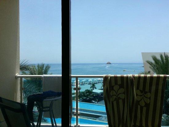 Radisson Blu Resort Fujairah: View from suite