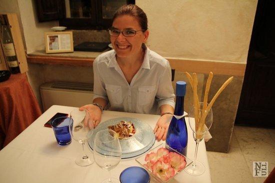 Ristorante Hotel Antico Furlo: Dessert time!