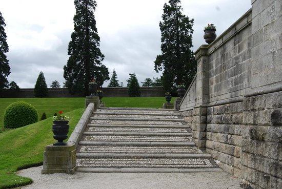 Powerscourt Gardens In County Wicklow Picture Of Powerscourt Gardens And House Enniskerry