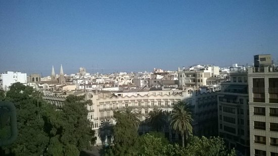 Hotel Dimar: Vista dal terrazzo