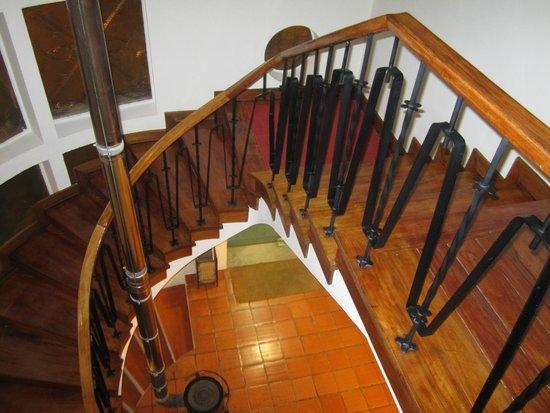 Hotel Calatrava: Escadas de acesso ao 1º andar