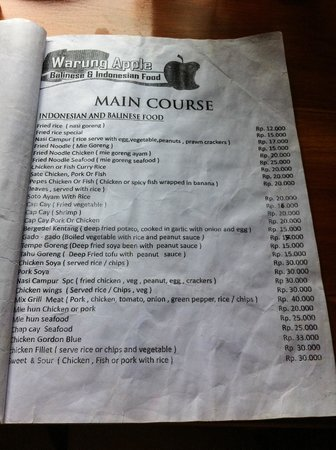 Warung Apple: Amazing prices!
