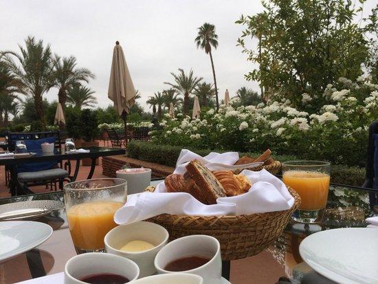 Selman Marrakech: Petit déj