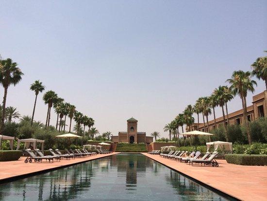 Selman Marrakech: Une des 4 piscine superbe