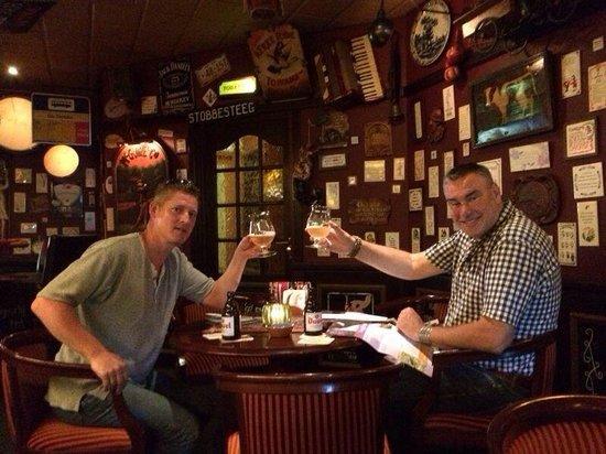 Hotel Brasserie De Stobbe: Heerlijke biertjes