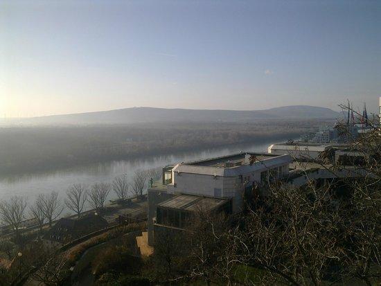 Bratislava Castle (Hrad): View from Hrad