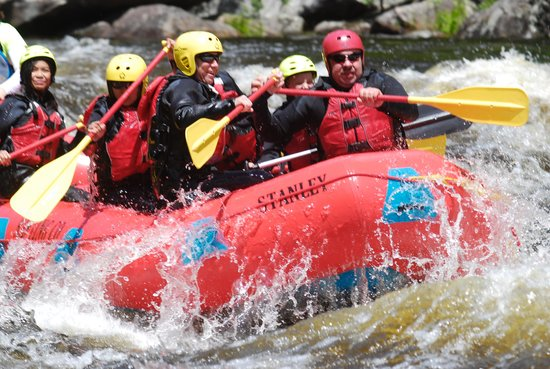 North Creek Rafting Company Day Trips: FUN!!!